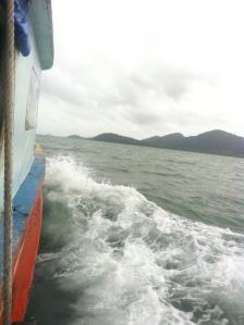 W drodze na wyspe