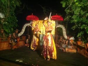Tradycyjny balijski taniec.