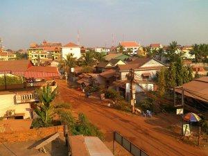 Kambodża, Siem Reap, Luty 2011.