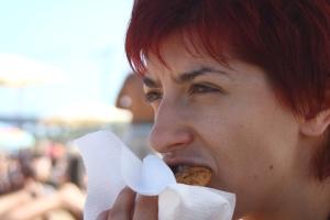 Ja z tamtego okresu. Zdjęcie Izy z Barcelony, wiosna 2011 r.