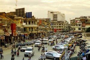 Kambodża, Phnom Penh. http://travelinnate.com/phnom-penh/