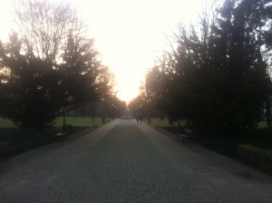 Park Dreszera, Warszawa.