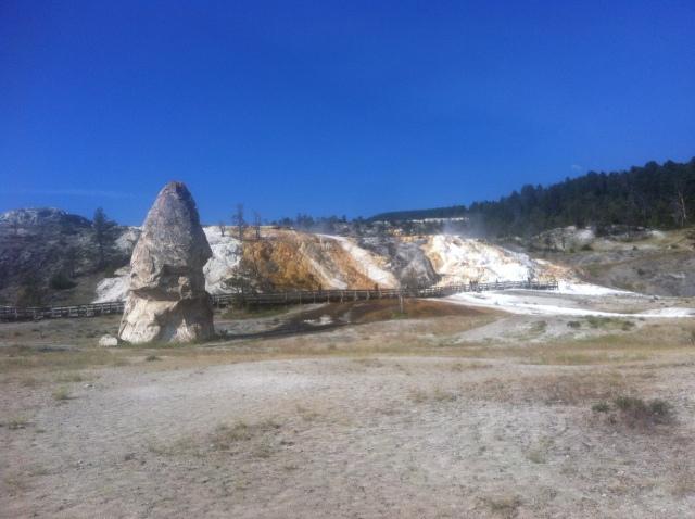 Yellowstone, Mammoth Hot Springs.